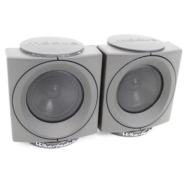 wharfedale modus cube surround sound rear hi fi speakers pair ebay. Black Bedroom Furniture Sets. Home Design Ideas